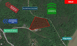 Property Contract For Sale: $11,999 for 4.73 Acres (Bedford County, VA)