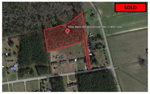 $257.46/Month for 4.9 acres - Martin County, NC