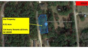 0.51 Acres in Harnett County, NC with Well and Septic System
