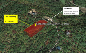 1.28 Acre Lot in Cherokee County for $307.04/Month