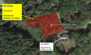 1.03 Acre Wooded lot in Murphy, NC