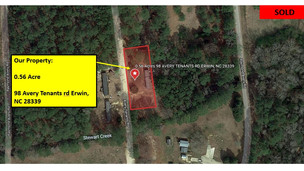 0.56 Acres Lot in Harnett County, NC with Well and Septic System