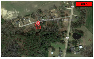 LOW Monthly $235.17 - Harnett County, NC - 0.54 Acre lot
