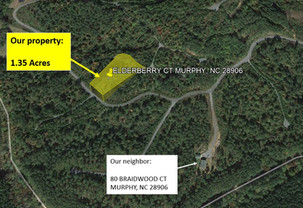 $234.44/month for a 1.35 Acre lot in Cherokee County, NC