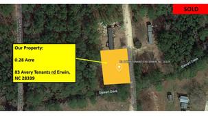 0.28 Acre lot Harnett County, NC