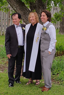 With the Officiant