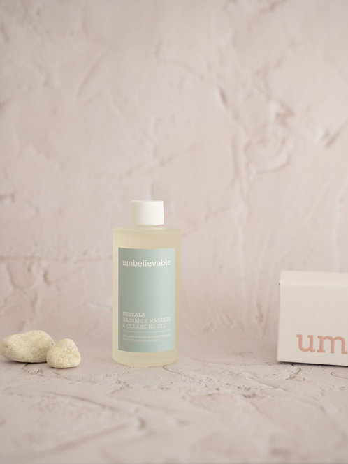 BETEALA Washable Massage & Cleansing Oil
