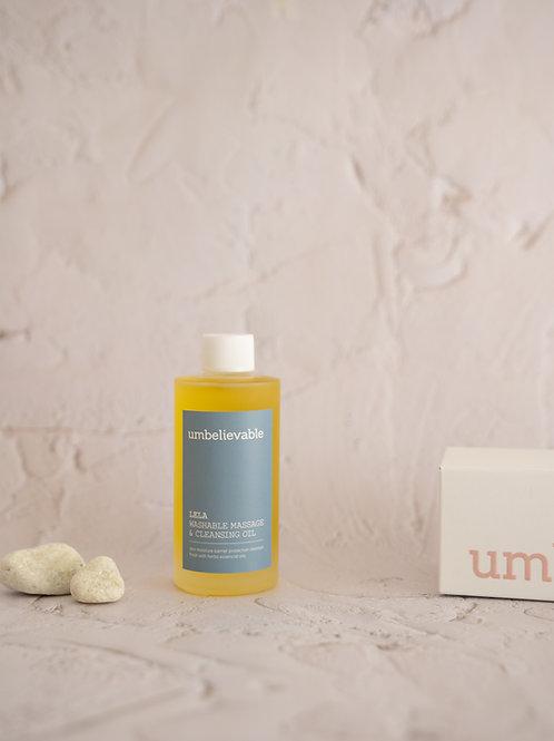 LELA Washable Massage & Cleansing Oil