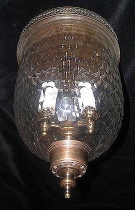 Thumbprint Ceiling Mount Bell Jar
