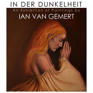 In Der Dunkelheit Exhibition flyer