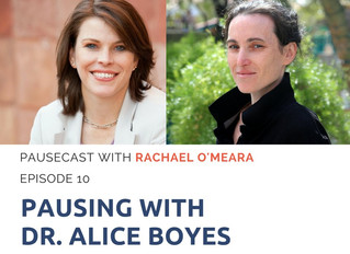 Pausecast Ep 10 with Dr. Alice Boyes
