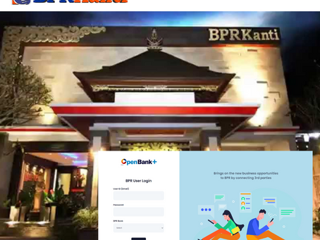 BPR Kanti in Bali joined our platform