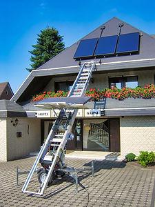 Aufzug Dachdeckeraufzug Bauaufzug