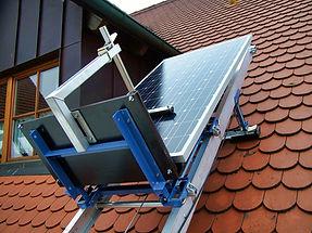 Geda Lift Solarpritsche Kranmeister