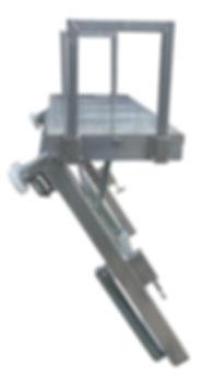 Ziegelverteiler 1 reihig Dachziegelverteiler