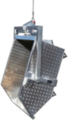 Kippmulde Kranmeister Kippautomatik
