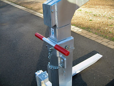 Aluminium Ladegabel verstellbar für Ladekran
