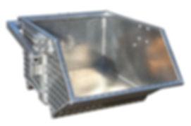 Schuttkübel Aluminium