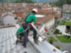 Seitenschutz Absturzsicherung Flachdach