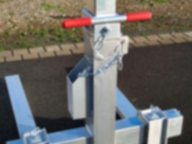 Alu Ladegabel Palettengabel Aluminium
