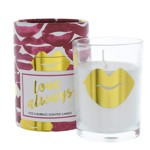 Candlelight Love Always Wax Filled Pot Candle in Gift Box Prosecco Scent 220g