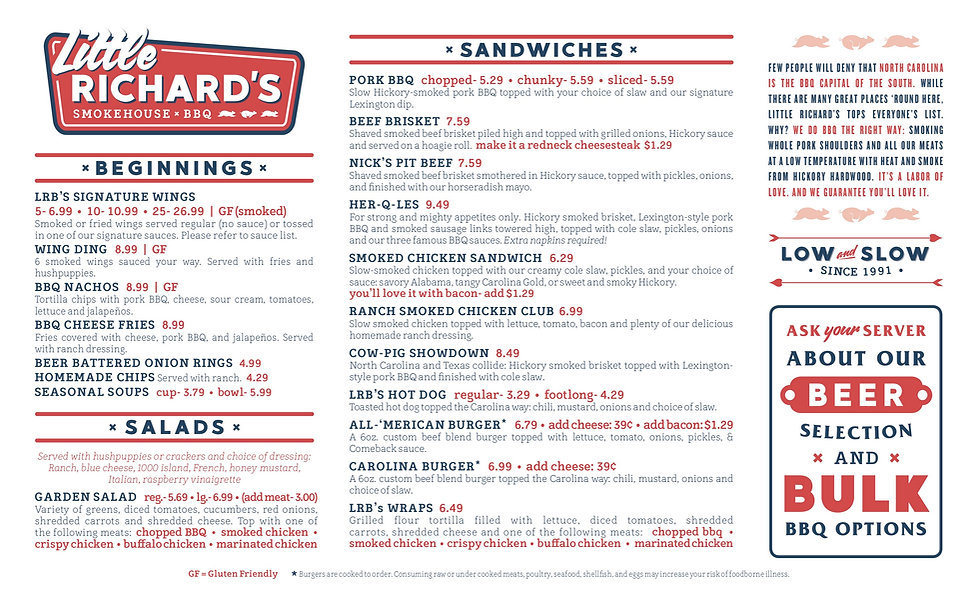 Little Richard's_ClemmonsWalkertownMenu_