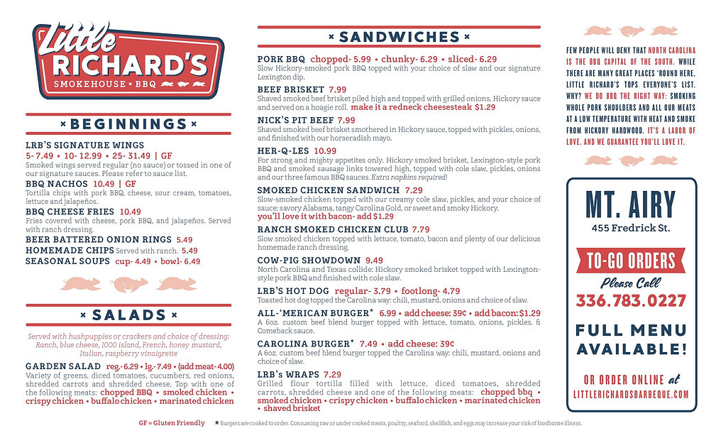 Little Richard's_New Menu_8.5x114_TOGO_0