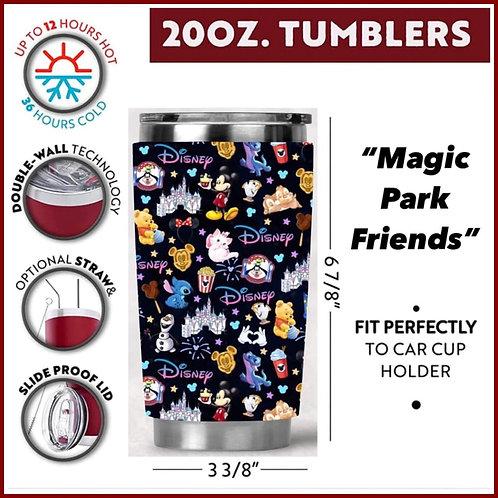 Magic Park Friends Tumbler