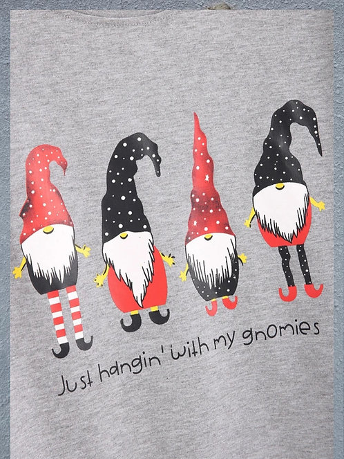 Just Hanging With My Gnomies Sweatshirts ~ S thru XL ~ Multiple Style Options