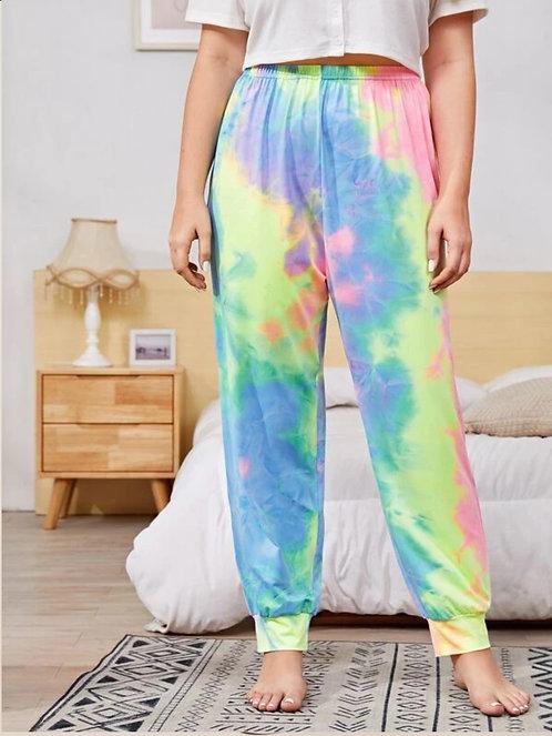 Tie Dye Pants ~X sizes