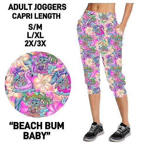 Beach Bum Baby Capri Joggers