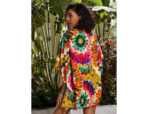 Open Front Tie Dye Kimono ~ XS thru XL