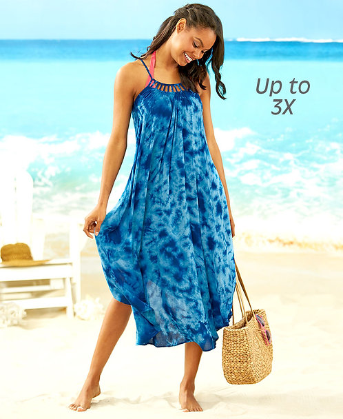Women's Cover-Up Swing Dresses ~ S thru 2 XL ~ Color options