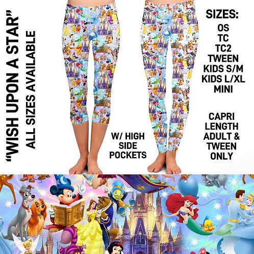 Wish Upon A Star Leggings ~ Kids ONLY