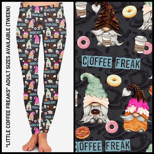Little Coffee Freaks Leggings ~ ETA Late April