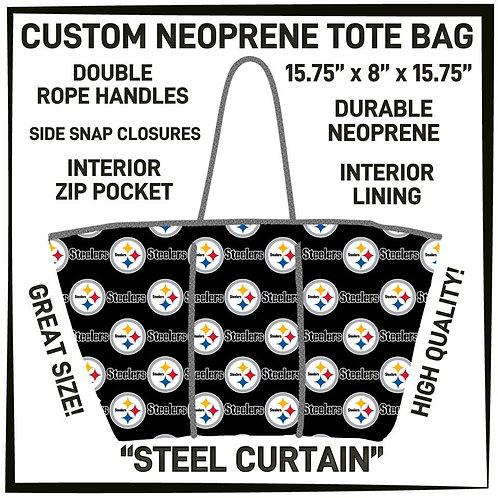 Steel Curtain Neoprene Bag