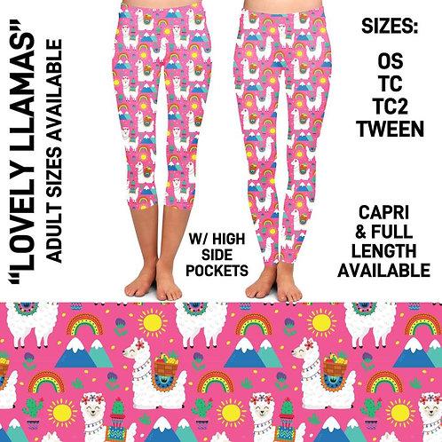 Lovely LLama's Leggings