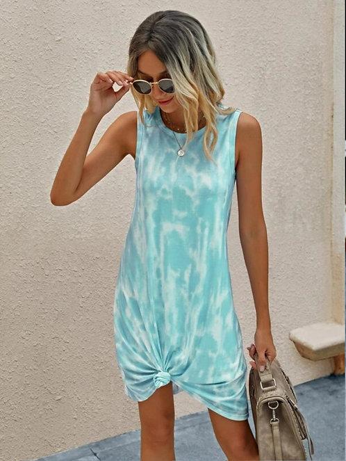 Tie Dye Tank Dress