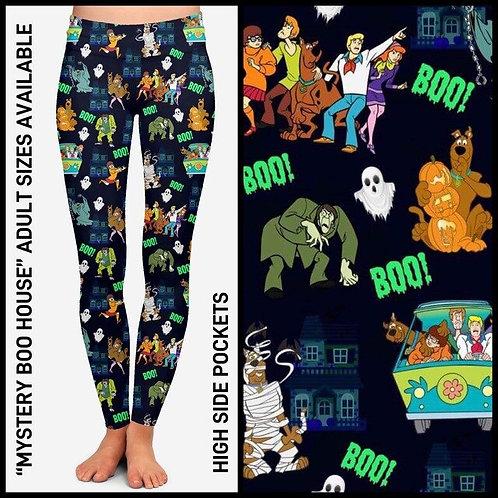 Mystery Boo House Leggings