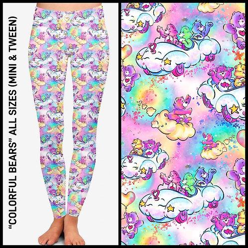 Colorful Bears Leggings
