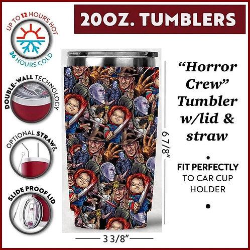 Horror Crew Tumbler