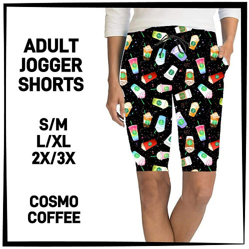Cosmo Coffee Jogger Shorts