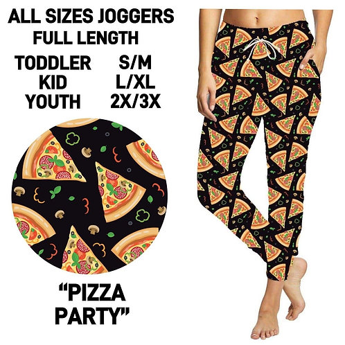 Pizza Party Joggers