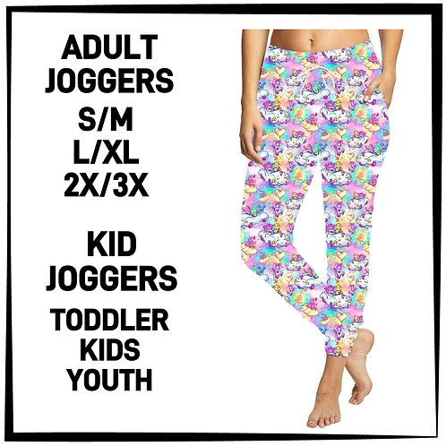 Colorful Bears Joggers ~ Kids ONLY