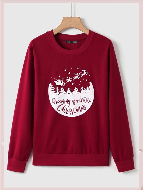 Dreaming  Christmas Sweatshirt ~  S thru XL