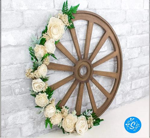 Wagon Wheel Craft Kit