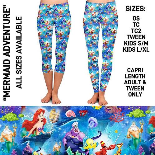 Mermaid Adventure Leggings