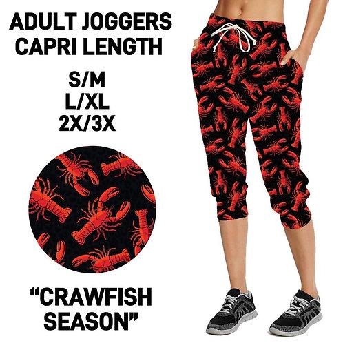 Crawfish Season Capri Joggings