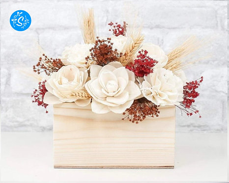 Wheat Centerpiece Craft Kit
