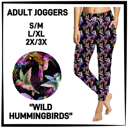 Wild Hummingbirds Joggers